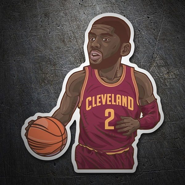 Autocollants: NBA - Kyrie Irving All-Star