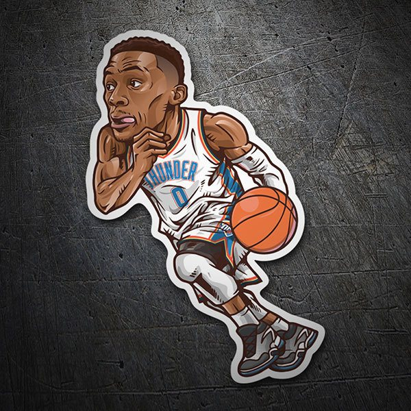 Autocollants: NBA - Russell Westbrook