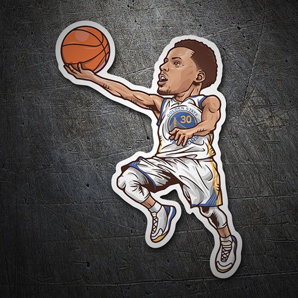 Autocollants: NBA - Stephen Curry