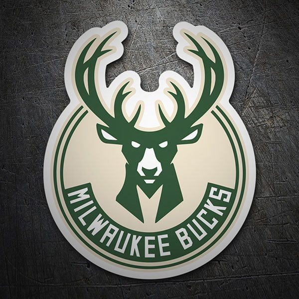 Autocollants: NBA - Milwaukee Bucks Bouclier