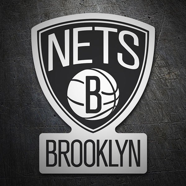 Autocollants: NBA - Brooklyn Nets bouclier 1