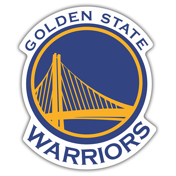 Autocollants: NBA - Golden State Warriors bouclier