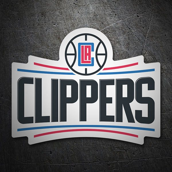 Autocollants: NBA - Los Angeles Clippers bouclier