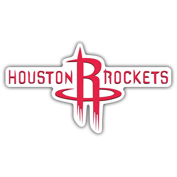 Autocollants: NBA - Houston Rockets Bouclier
