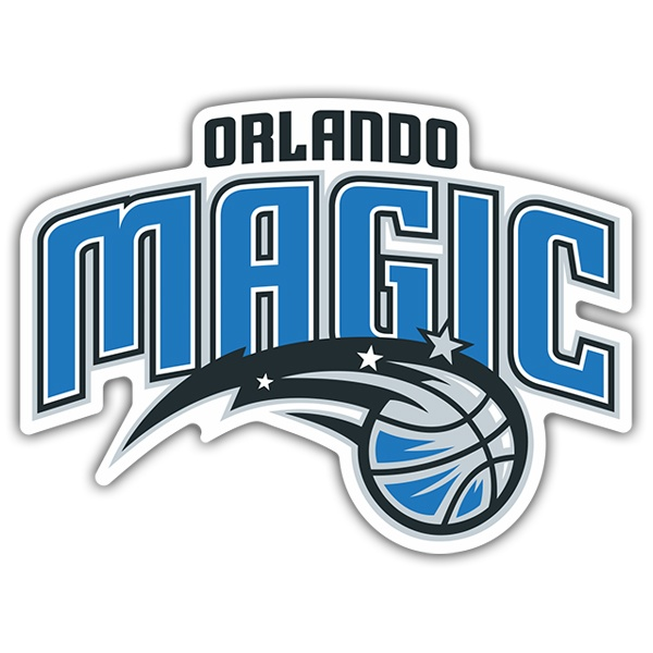 Autocollants: NBA - Orlando Magic bouclier