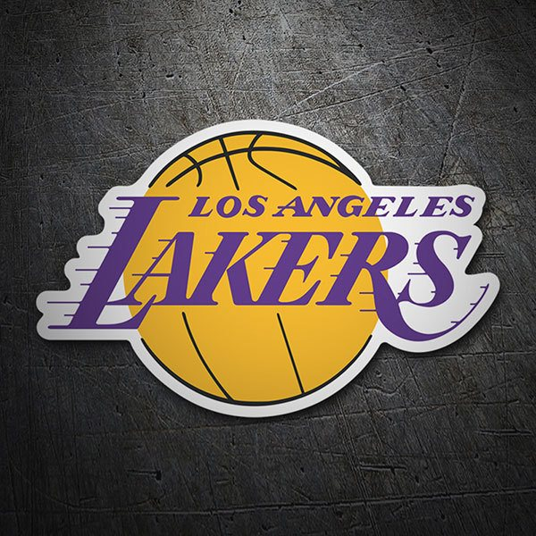 Autocollants: NBA - Los Angeles Lakers bouclier