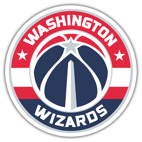 Autocollants: NBA - Washington Wizards bouclier