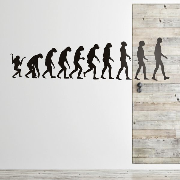 Stickers muraux: Evolution