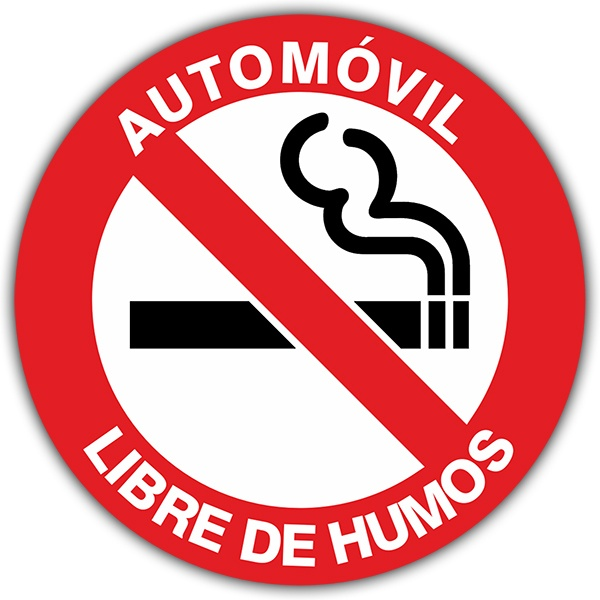 Autocollants: No smoking 2