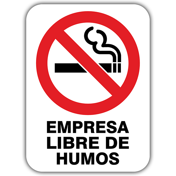 Autocollants: No smoking 3