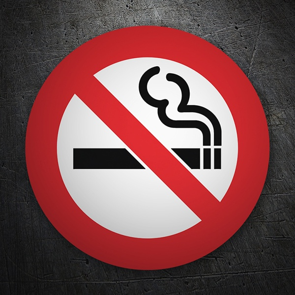 Autocollants: No smoking 6