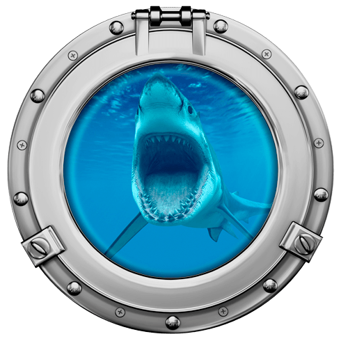 Stickers muraux: Requin