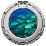 Stickers muraux: Banc de poisson 1 5