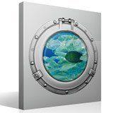 Stickers muraux: Banc de poisson 2 4