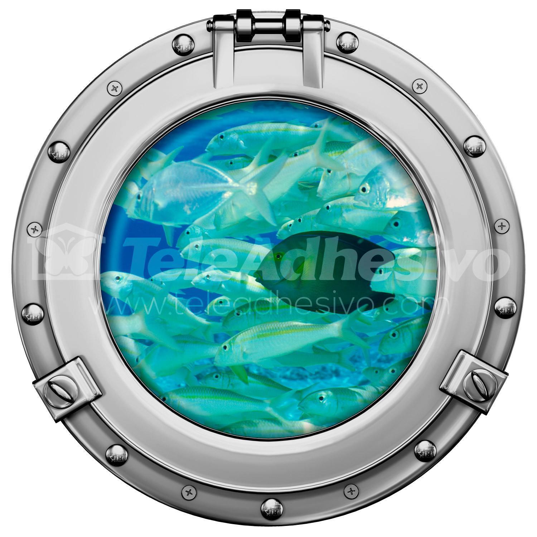 Stickers muraux: Banc de poisson 2