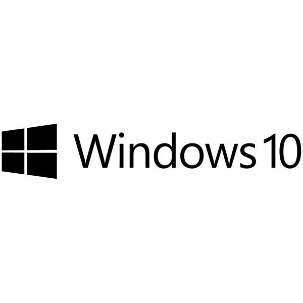 Autocollants: Windows 10