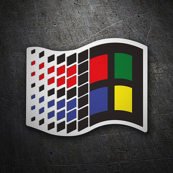 Autocollants: Microsoft Windows 95