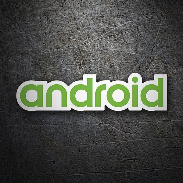 Autocollants: Android Logo