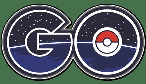 Stickers muraux: Pokémon Go logo 2