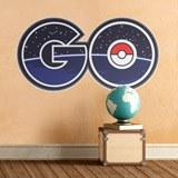 Stickers muraux: Pokémon Go logo 2 3