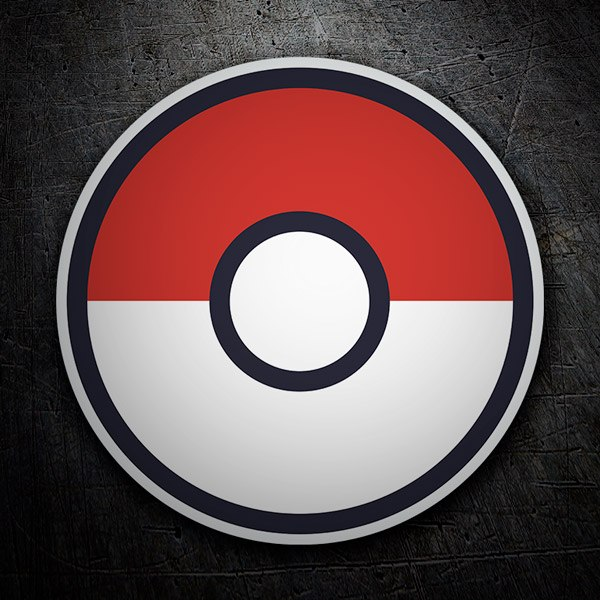 Stickers muraux: Pokeball - Pokémon Go
