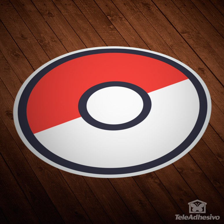 Stickers muraux: Pokeball - Pokémon Go