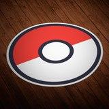 Stickers muraux: Pokeball - Pokémon Go  3