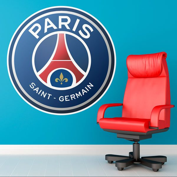 Stickers muraux: Armoiries de Paris Saint Germain
