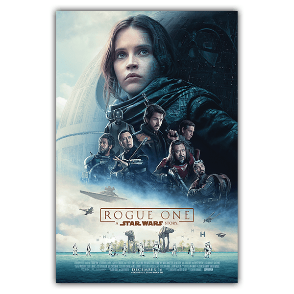 Stickers muraux: Poster adhésif Star Wars Rogue One