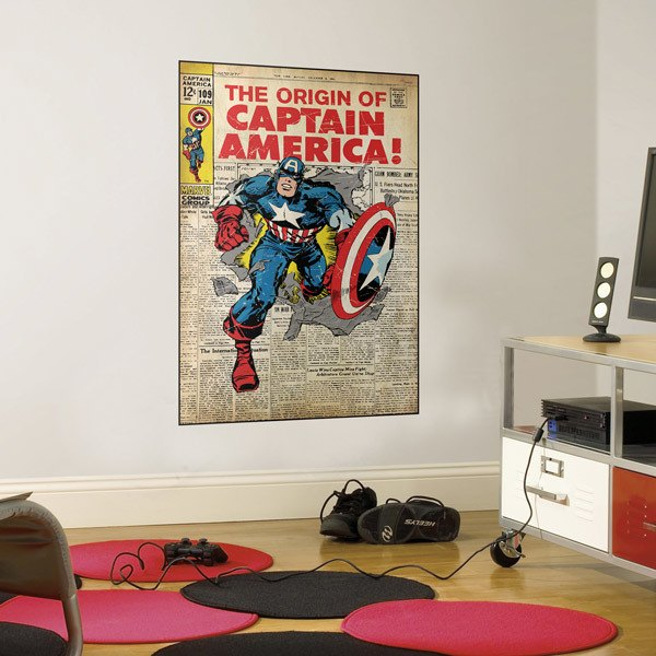 Stickers muraux: Captain America