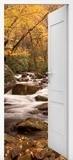 Stickers muraux: Porte ouverte ressort dans la forêt 6