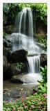 Stickers muraux: Porte Chute d eau et de pierres 2 6