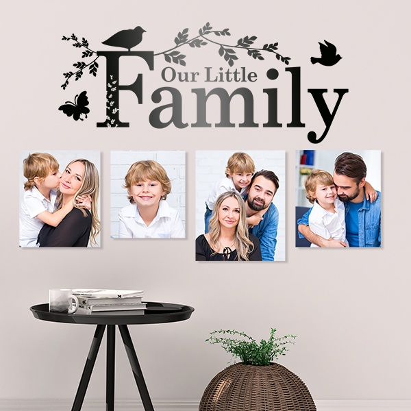 Stickers muraux: Our family