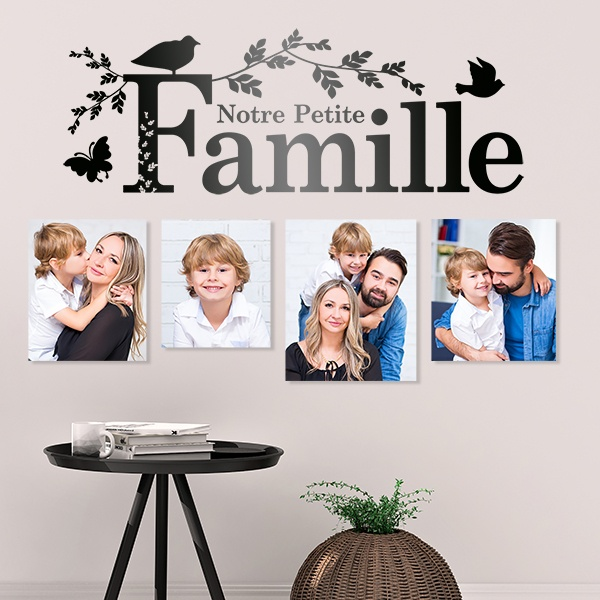 Stickers muraux: Notre famille
