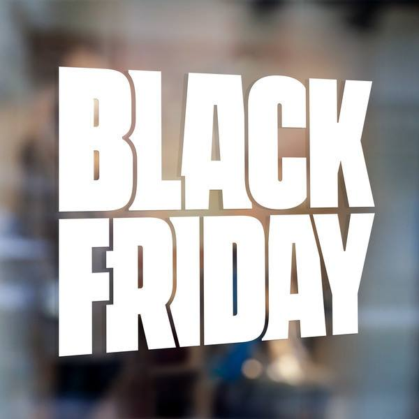 Stickers muraux: Black Friday 1
