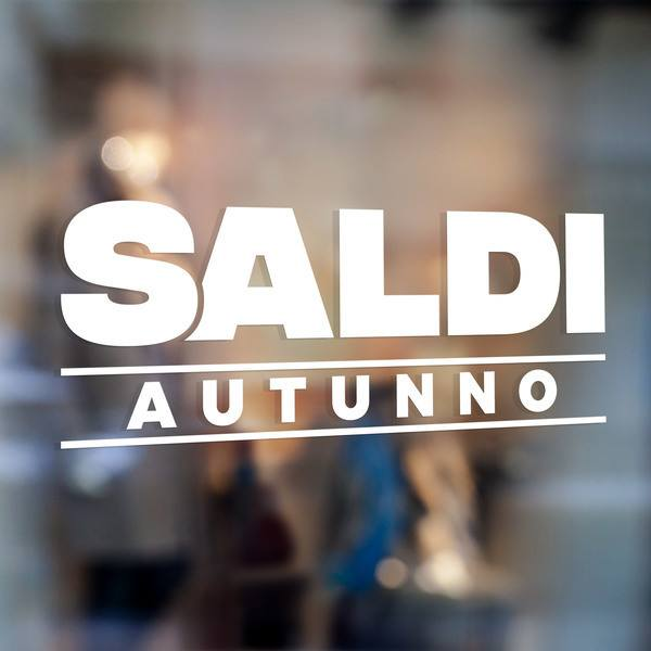 Stickers muraux: Saldi Autunno 0