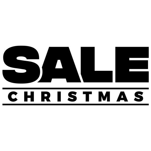 Stickers muraux: Sale Christmas