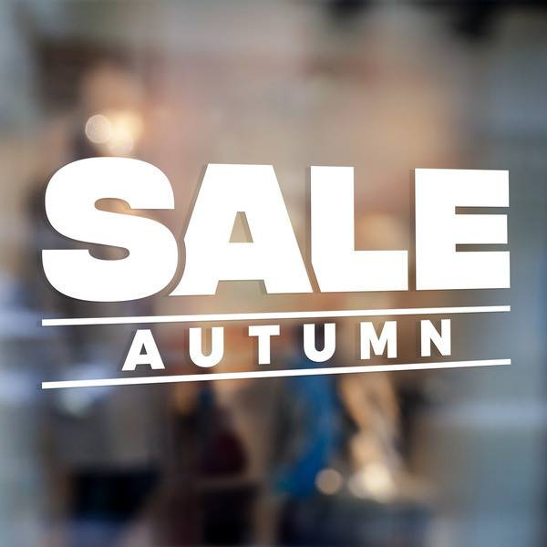 Stickers muraux: Sale Autumn