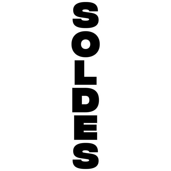 Stickers muraux: Soldes vertical