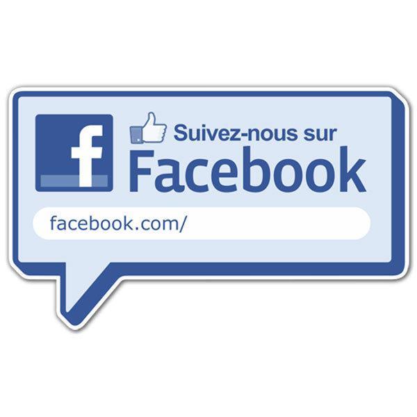 Célèbre Suivez-nous sur Facebook AP76