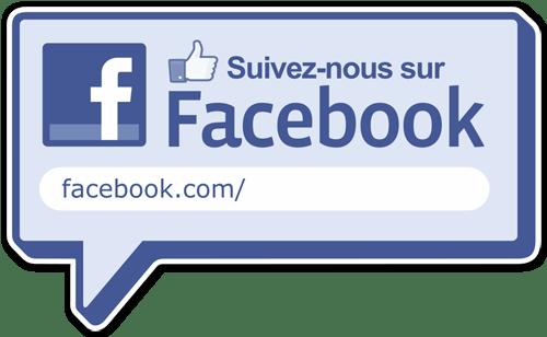 logo facebook adhesif