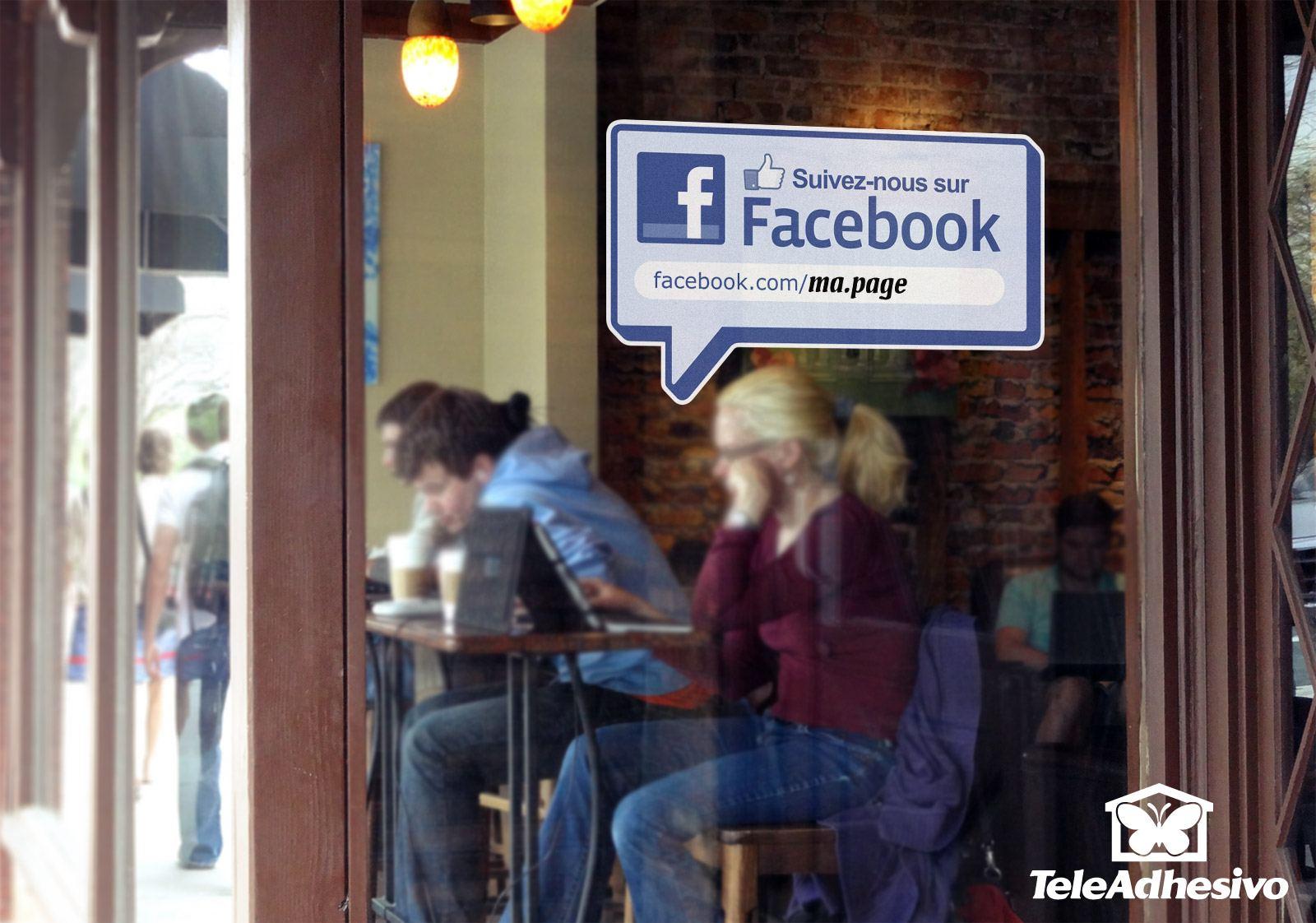 Super Suivez-nous sur Facebook ZG76