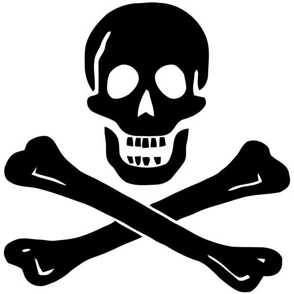 autocollants edward england pirate