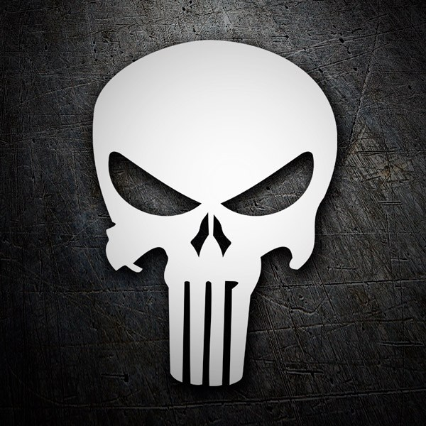 Autocollants: Skull Punisher