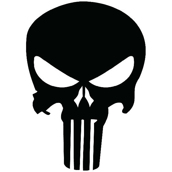 Autocollants: The Punisher