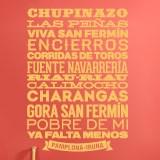 Stickers muraux: Pamplona-Iruña 2