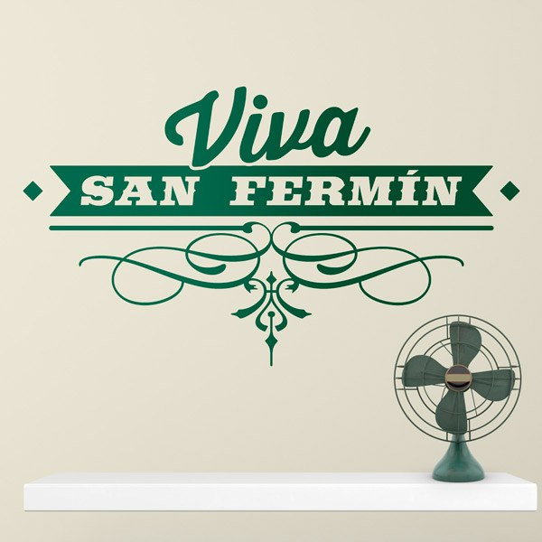 Stickers muraux: Vive San Fermin