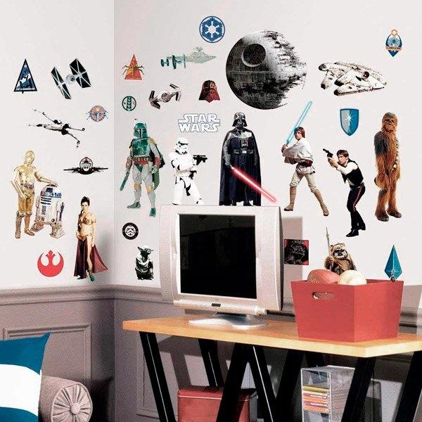 Stickers muraux: Classique Star Wars Stickers Muraux