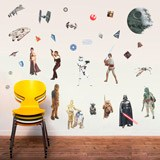 Stickers muraux: Classique Star Wars Stickers Muraux 4