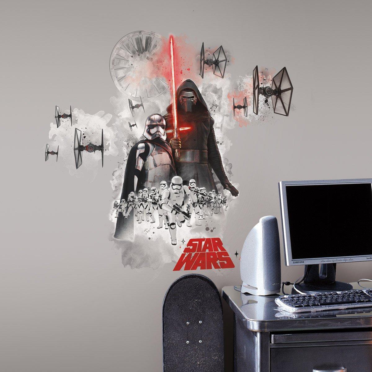grand sticker star wars villains. Black Bedroom Furniture Sets. Home Design Ideas